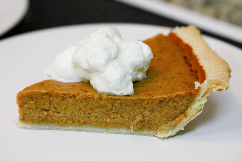 Pumpkin Pie | Rebecca Cakes & Bakes