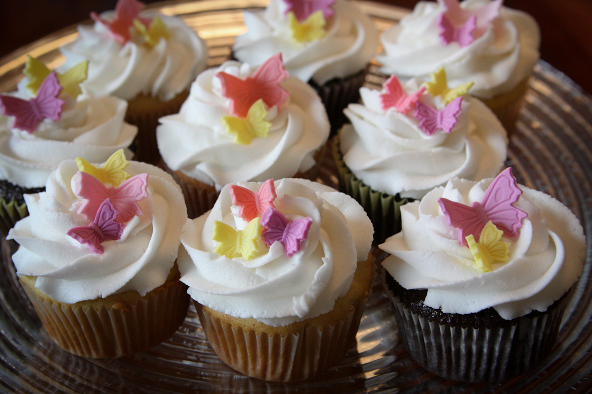 Butterfly Cupcakes Rebecca Cakes Amp Bakes