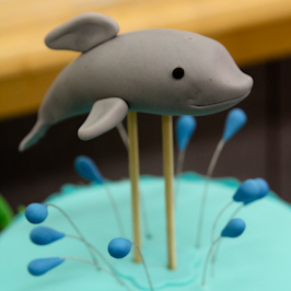 Image Result For Dolphin Cake Topper