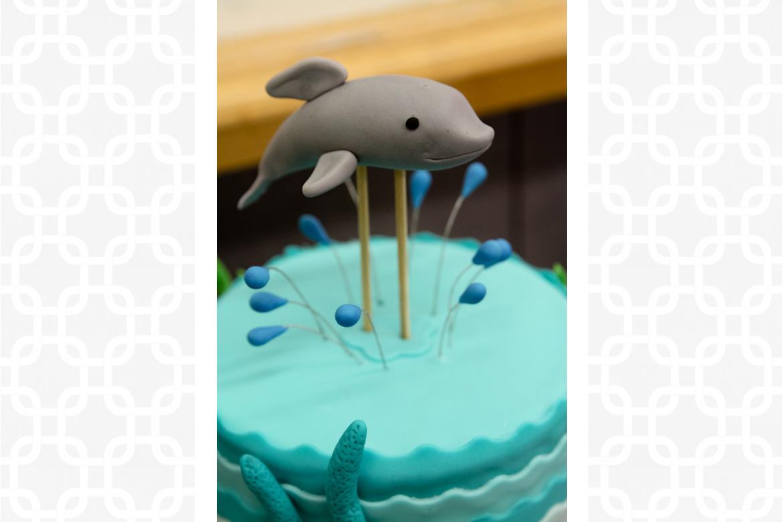 Dolphin Cake Topper Rebecca Cakes Bakes