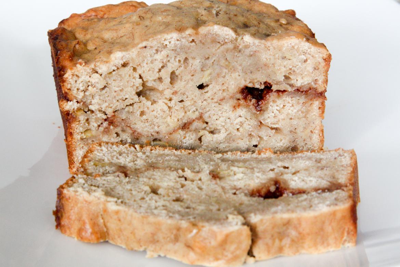Cinnamon Swirl Banana Bread | Rebecca Cakes & Bakes