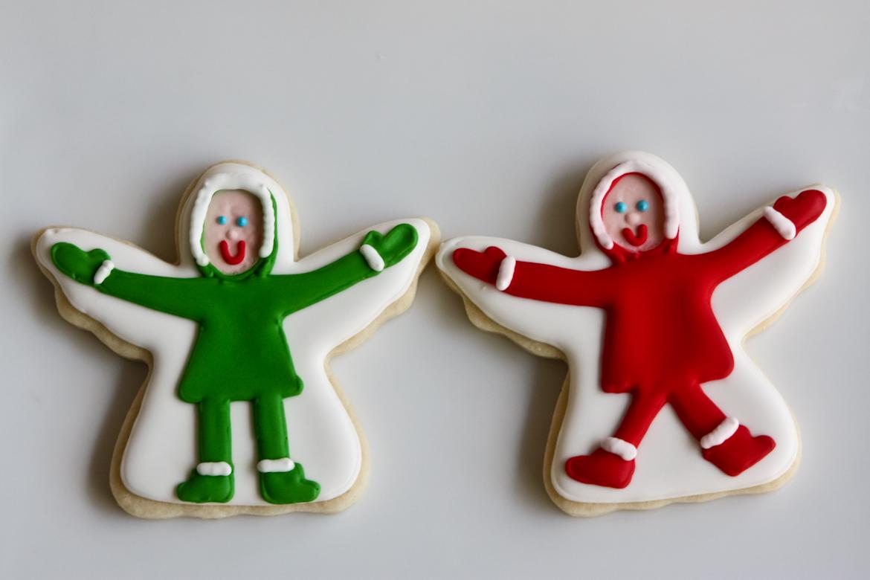 Snow Angel Sugar Cookies Rebecca Cakes Bakes