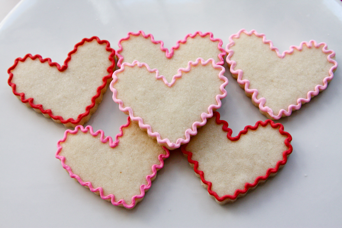 Valentine's Day Sugar Cookies | Rebecca Cakes & Bakes