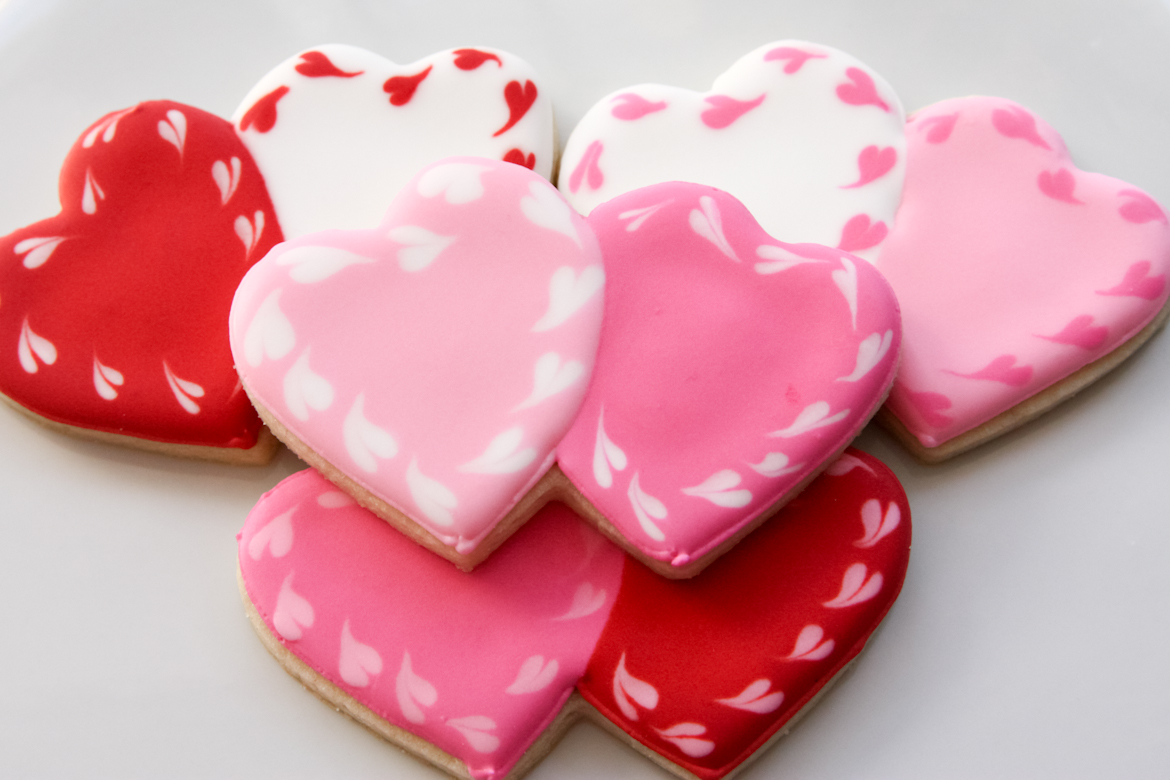 Valentines Sugar Cookies Valentine Sugar Cookies by