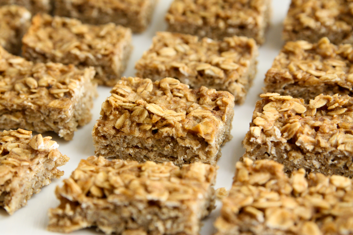 Apple Peanut Butter Oat Bars | Rebecca Cakes & Bakes