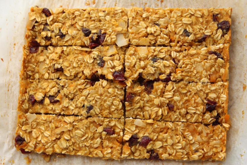 Sweet Potato Breakfast Bars | Rebecca Cakes & Bakes