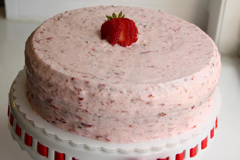Strawberry Cream Cake Recipes — Dishmaps