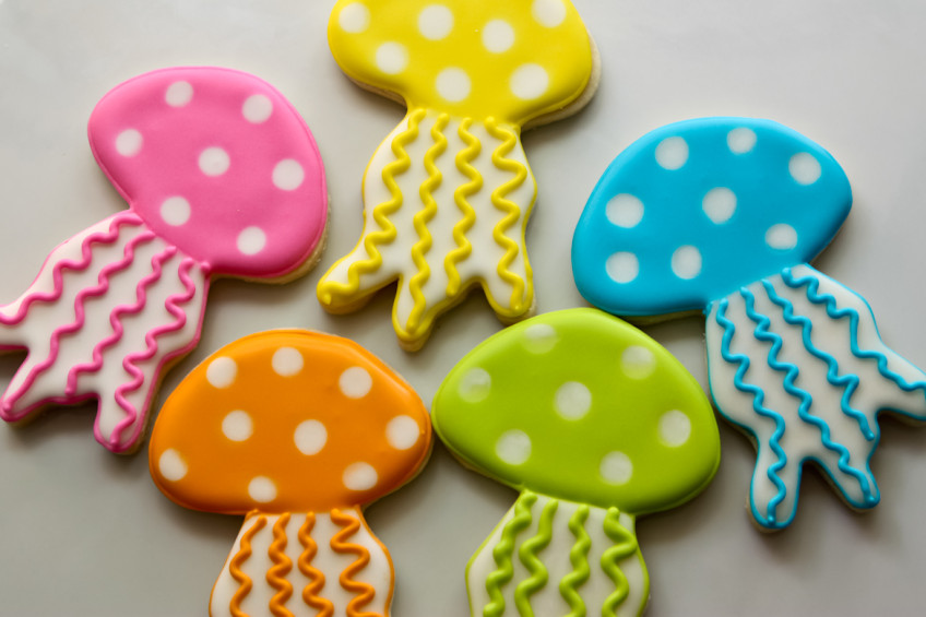 Jellyfish Cookies Rebecca Cakes Amp Bakes
