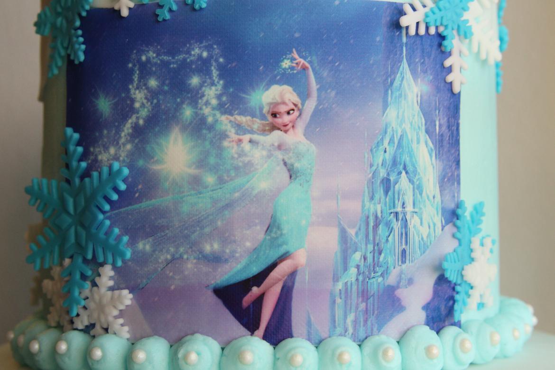 image of frozen cake