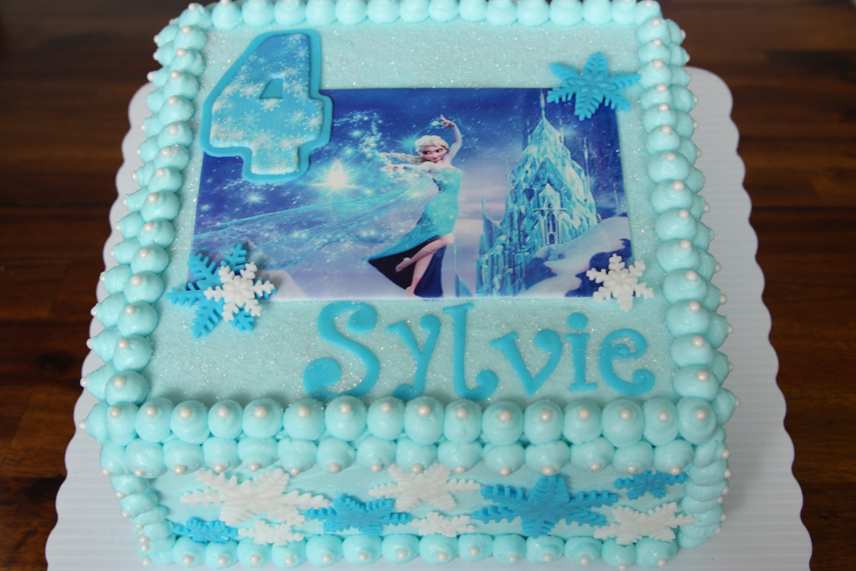 Frozen Elsa Cake Rebecca Cakes Bakes