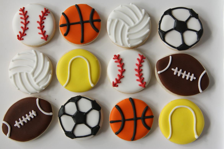 Sports Balls Sugar Cookies Rebecca Cakes Amp Bakes
