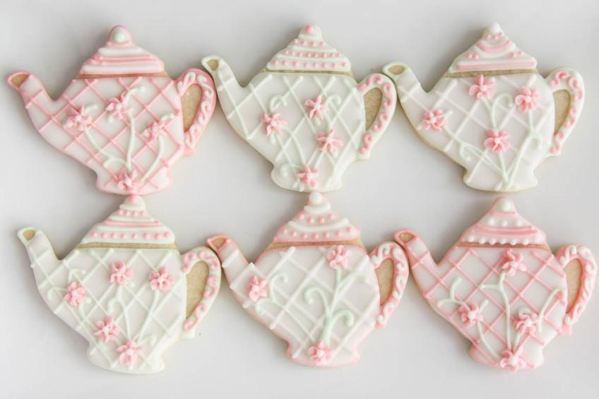Tea Pot Sugar Cookies Rebecca Cakes Amp Bakes