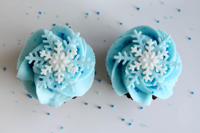 Snowflake Cupcakes Rebecca Cakes Amp Bakes