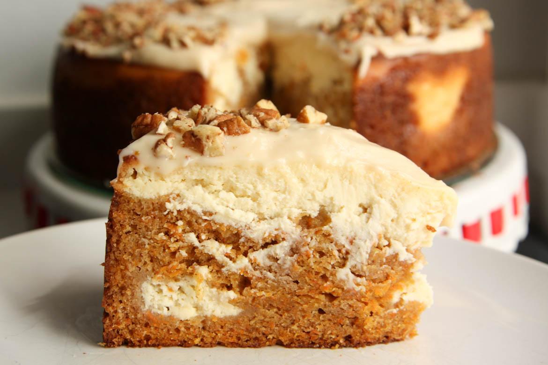 Carrot Cake Cheesecake Rebecca Cakes Amp Bakes