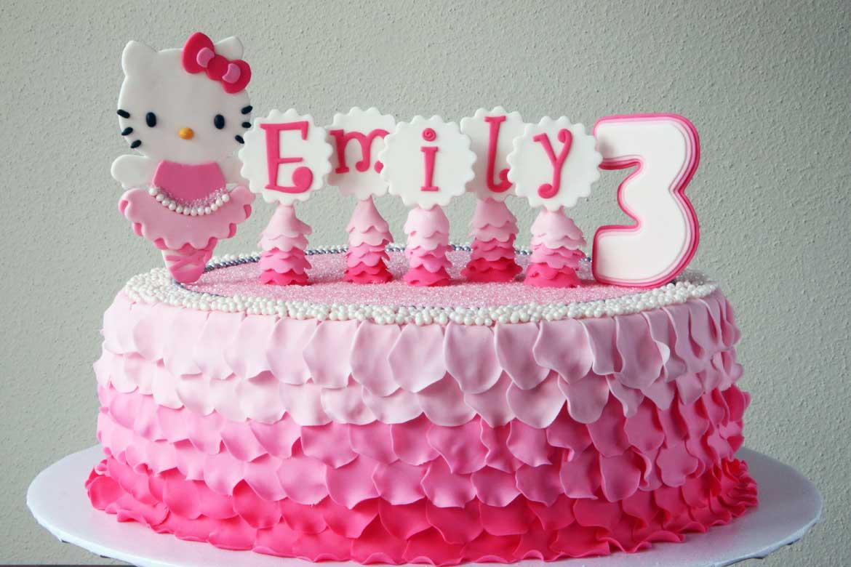 Hello Kitty Cake Rebecca Cakes Bakes