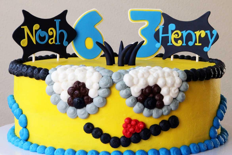 Minion Birthday Cake Rebecca Cakes Bakes