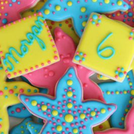 Starfish Birthday Cookies  sc 1 st  Rebecca Cakes u0026 Bakes & Circus Tent Cookies   Rebecca Cakes u0026 Bakes