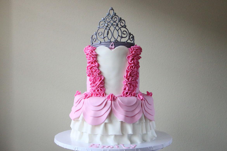 Princess Dress Cake Rebecca Cakes Amp Bakes